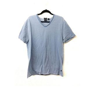 Boss Hugo Boss Reg Fit Pima Cotton V Neck Shirt